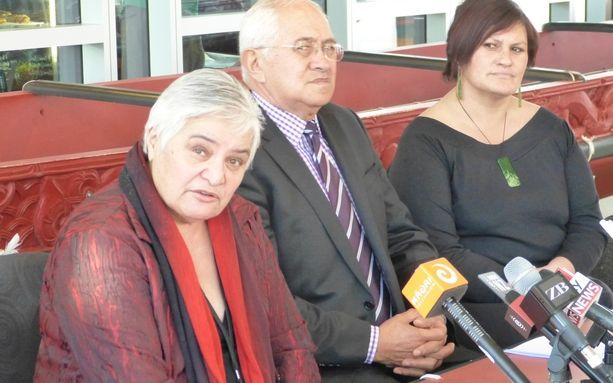 Founding Whanau Ora Minister Tariana Turia, left, with members of its governance group.