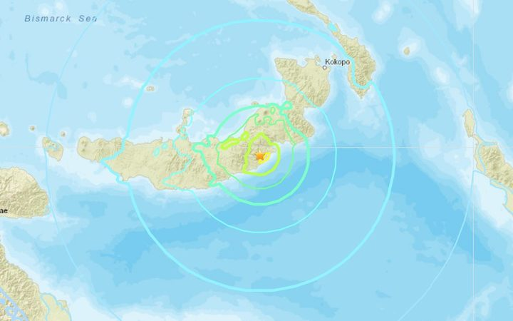 Magnitude Earthquake Slams Papua New Guinea
