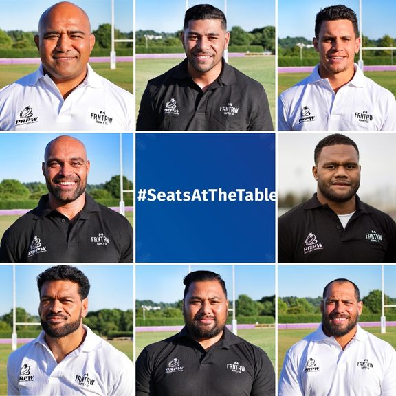 Pacific Rugby Players Welfare launched the 'Seats At The Table' campaign in August.