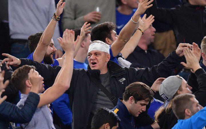 Chelsea football fans