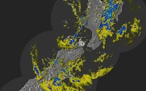 Rain Radar for 12 October
