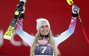 Lindsey Vonn is widely regarded as the greatest female race skier of all time.
