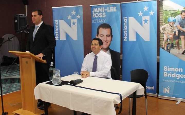 Jami-Lee Ross and Simon Bridges before their political falling-out. Photo / Facebook, Jami-Lee Ross
