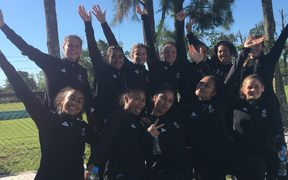 NZ womens rugby sevens team wins gold at 2018 Youth Olympics.
