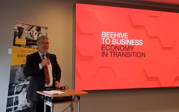 David Parker at Beehive to Business: Economy in Transition