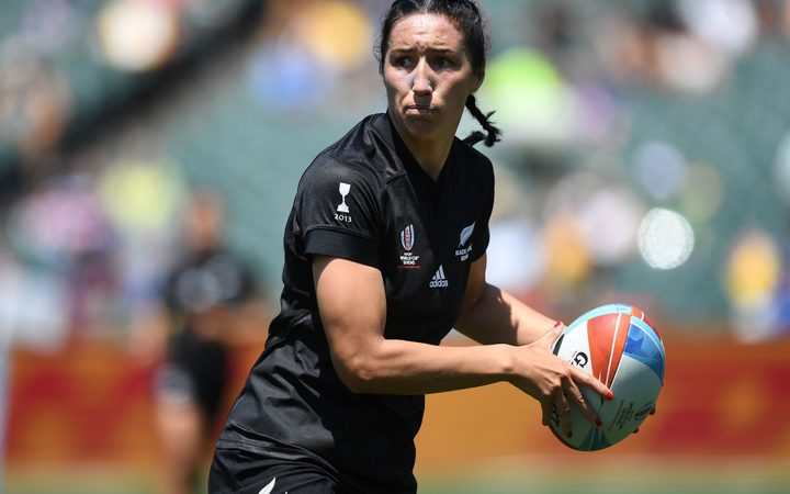Black Ferns Sevens captain Sarah Goss