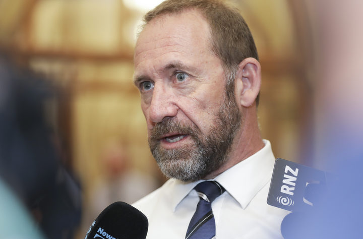 Minister of Justice Andrew Little.