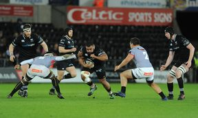 Ospreys prop Ma'afu Fia has been named in the 'Ikale Tahi squad.
