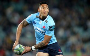 Israel Folau has recommitted to the NSW Waratahs and Wallbies until 2022