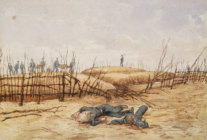 Horatio Robley's paintings of Gate Pa are some of the most evocative images of the New Zealand Wars