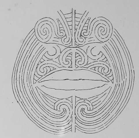 Sketches like these from Robley's book are still used by modern moko practitioners as references.