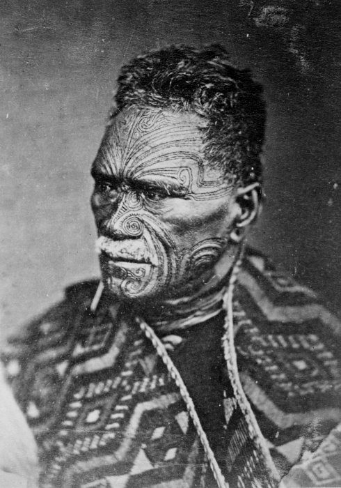 The Maori King, Tawhiao, wore full-face moko and encouraged others to keep the tradition alive