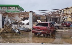 Damage caused by Super Typhoon Yutu