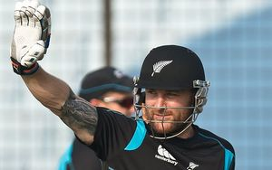 New Zealand captain Brendon McCullum.