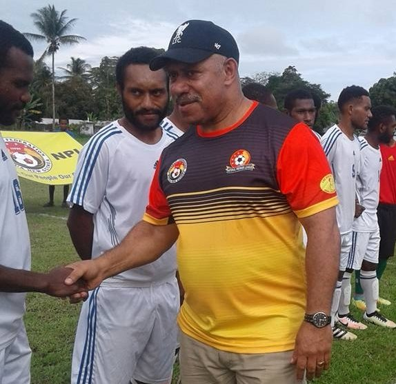 John Kapi Natto launched a breakaway football body, Football Federation PNG in 2017.