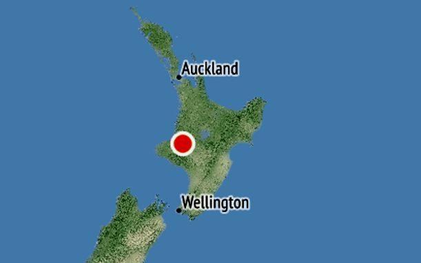 The earthquake was centered 20 km south of Taumaranui.