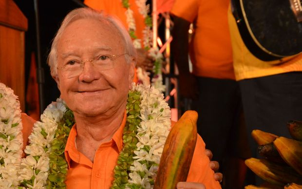 Flosse determined to stand in Tahiti election