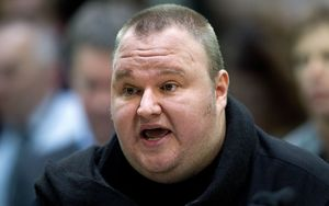 Internet businessman Kim Dotcom.