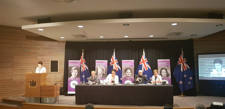 Former National MP Marilyn Waring teamed up with Labour MP Louisa Wall to argue the case for quotas for women on boards.