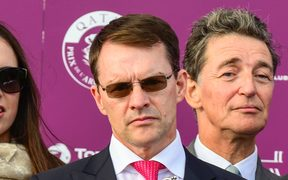 Horse trainer Aidan O'Brien.