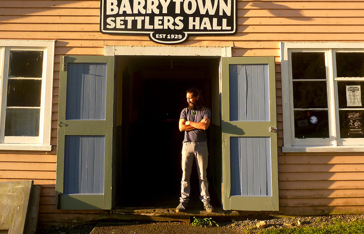 The Barrytown Settlers Hall is the only community facility between Runanga and Charleston.