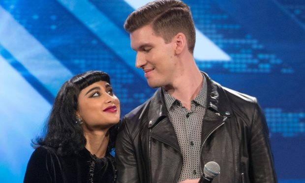 Former X Factor judges Natalia Kills and Willy Moon.