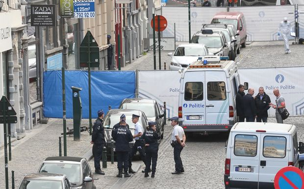 Police cordoned off the area around the museum, a busy tourist district in central Brussels.