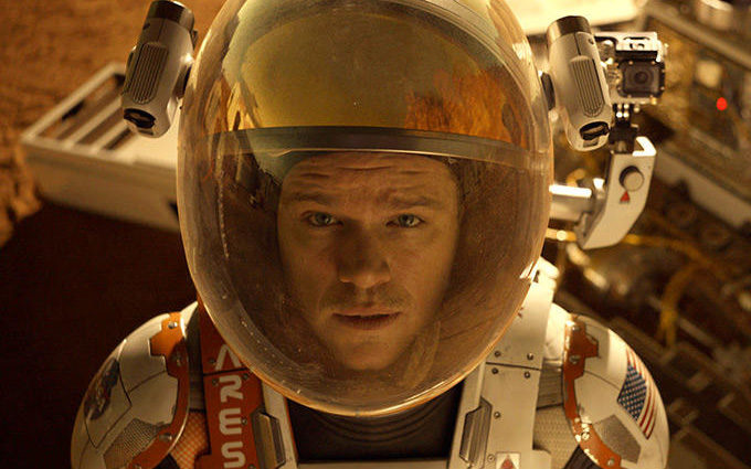 How much you enjoy The Martian will depend heavily on just how charming you find Matt Damon.