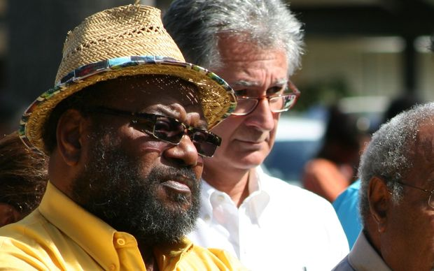 Melanesian Spearhead Group chairman Victor Tutugoro