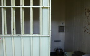 A cell in Mt Eden Prison.