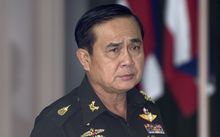 Thai army chief Prayuth Chan-ocha, who has been sworn in as prime minister.