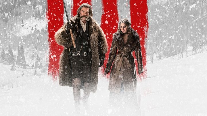 The Hateful Eight: Kurt Russell and Jennifer Jason Leigh.