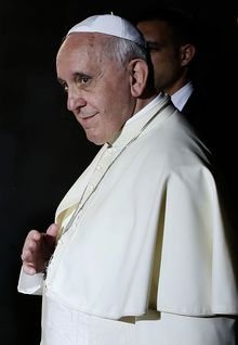 Pope Francis is to meet eight victims of sex abuse.