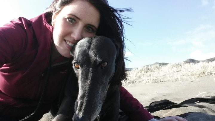 Vet Erin Dowler (pictured with Dante) is perfectly capable of vetting, despite being a woman.