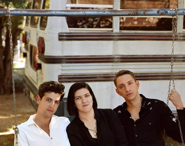 The XX are Jamie Smith, Romy Madley-Croft and Oliver Sim