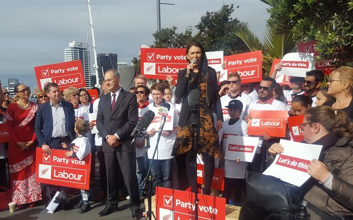 Jacinda Ardern announces Labour's Auckland transport policy