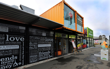 The ReStart container mall in Christchurch.