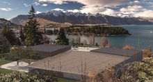 Artist's impression of the Queenstown Convention Centre.