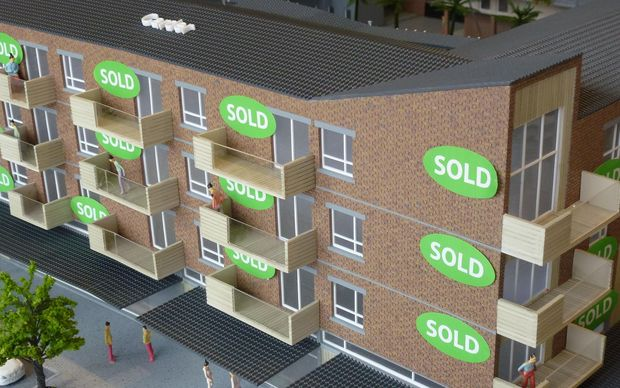 A model of the finished product.