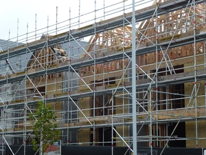 A building in Hobsonville is due to be finished later this year.