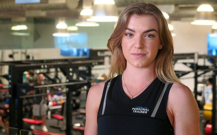 Juliet Esveld gave up studying law to become a personal trainer.