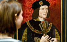 A painting of Richard III by an unknown artist at London's National Portrait Gallery.