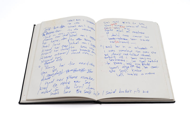 Pauly Fuemana's journal mid- to late 1990s.
