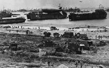 Allied forces stormed the Normandy beaches on D-Day.