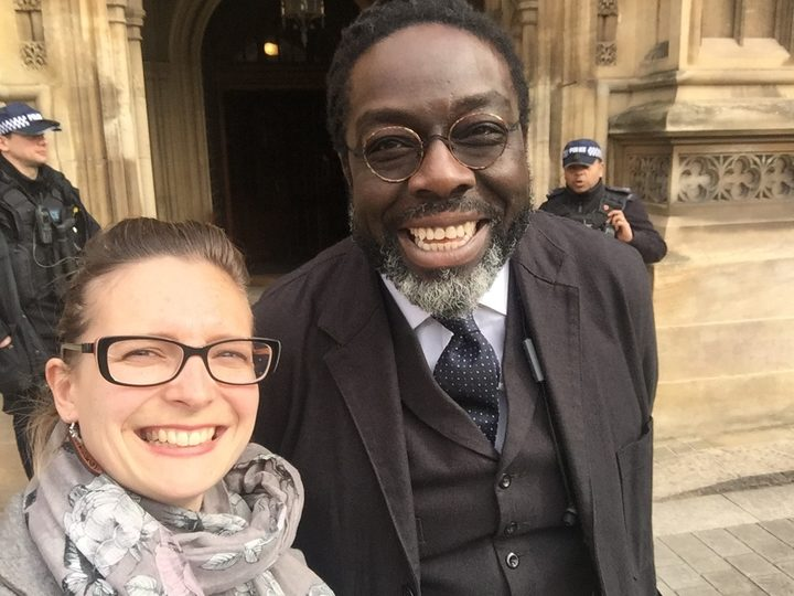 Dr Katie Bruce and Lord Victor Adebowale