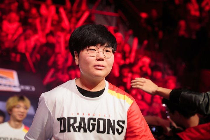 Seyeon Kim, AKA Geguri, enters the Blizzard arena for the first time as an Overwatch League player.