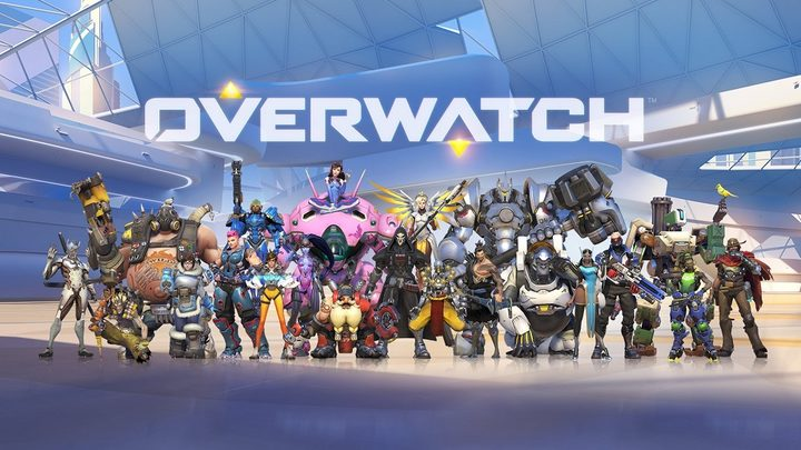 The roster of characters at the launch of Overwatch.
