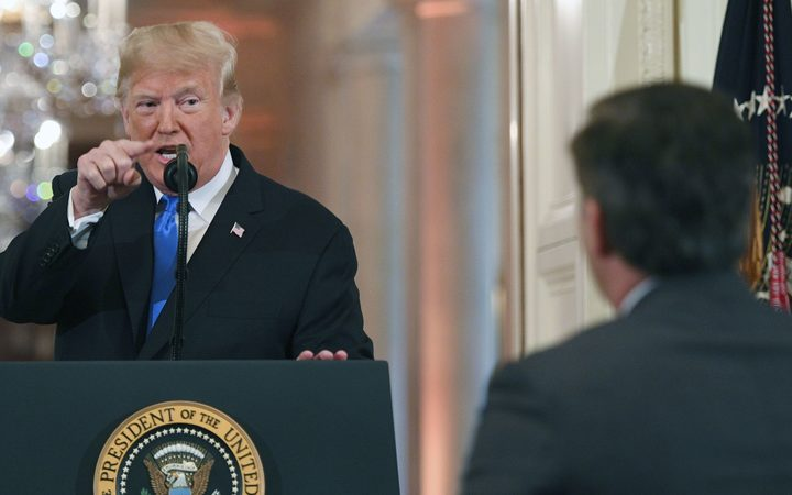 White House Revokes Press Pass Of CNN's Jim Acosta