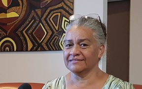 Patricia Goa at the government of the Northern Province in New Caledonia