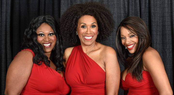 Ruth Pointer, centre, with daugher Issa, left and grandaughter Sadako.